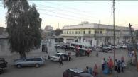 Hargeisa street scene behind Hotel Oriental, Somaliland