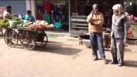 Street life India on foot